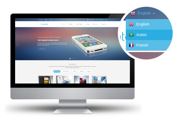 Is it enough to have an English language version for your website?